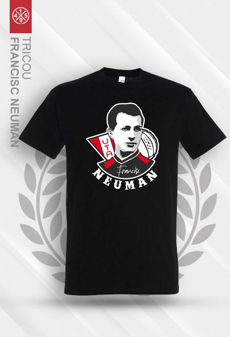 Black T-shirt Francisc Neuman 1