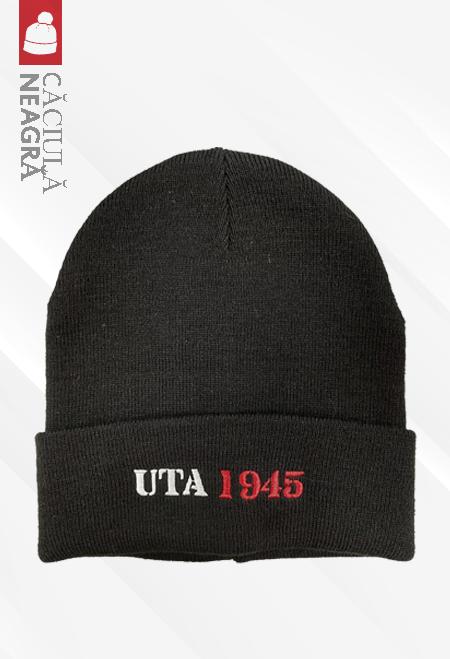 Black winter beanie UTA Arad 0