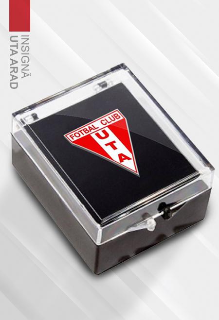 Metal badge UTA Arad 0