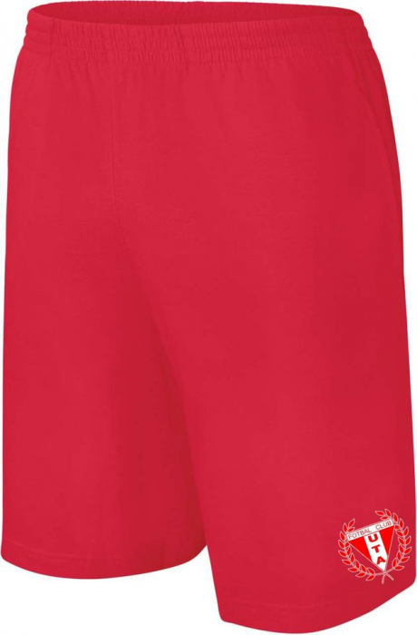 Pantaloni roșii scurți UTA Arad 0