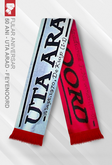 Scarf UTA Arad - Feyenoord Rotterdam 0