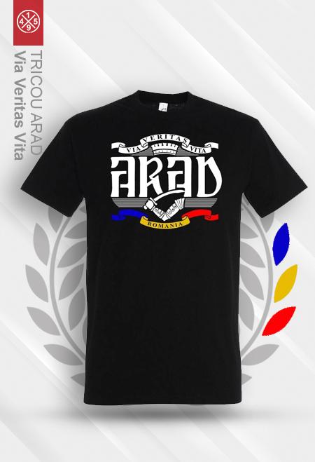 Tricou ARAD - Via Veritas Vita 0