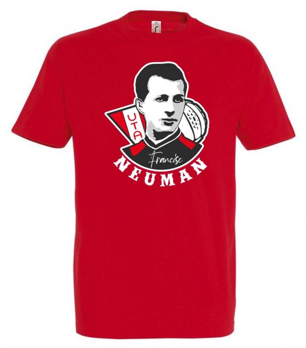 Tricou Francisc Neuman roșu 0