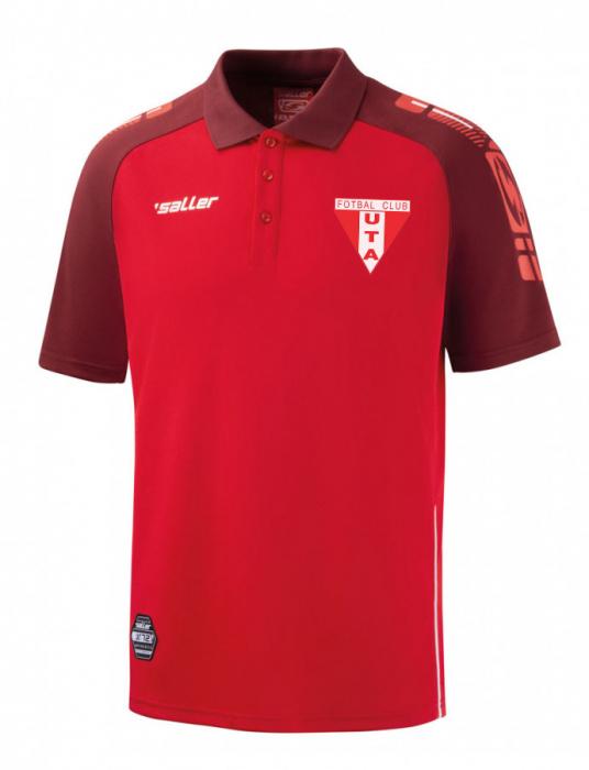 Tricou polo rosu  Saller - Sezon 2020-2021 1