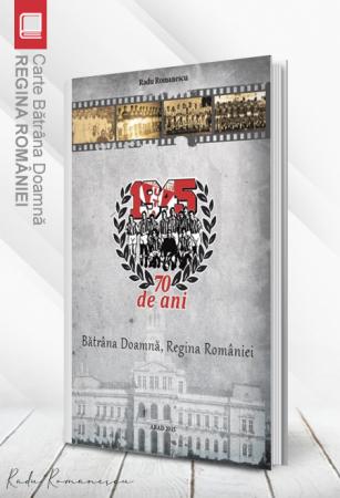 Carte Bătrâna Doamnă, Regina României - Radu Romanescu0