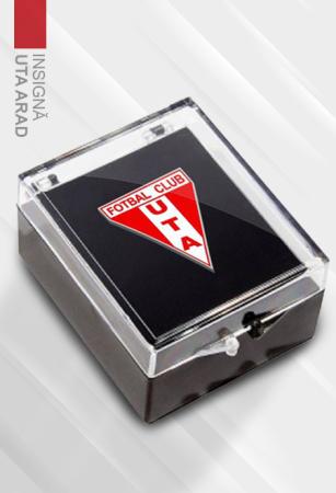 Metal badge UTA Arad0