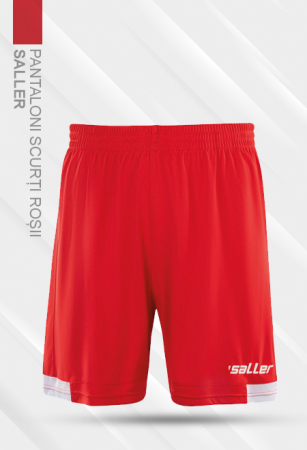 Pantaloni scurți roșii Saller - Sezon 2020-20210