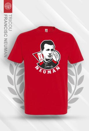 Tricou Francisc Neuman roșu [1]