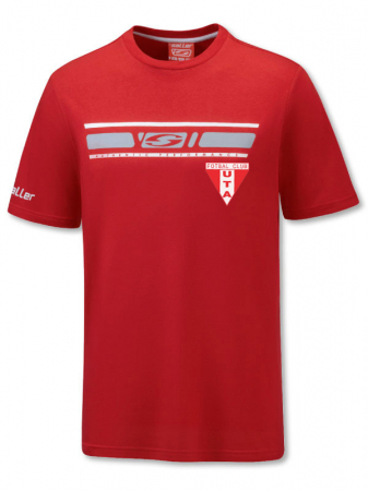 Tricou sport rosu Saller - Sezon 2020-20211