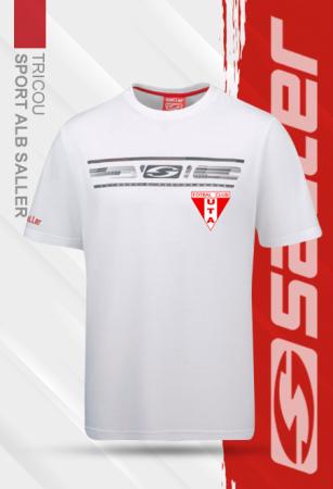 Tricou sport alb Saller - Sezon 2020-20210