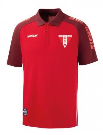 Tricou polo rosu  Saller - Sezon 2020-20211