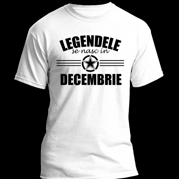 TRICOU Legendele se nasc in DECEMBRIE 0