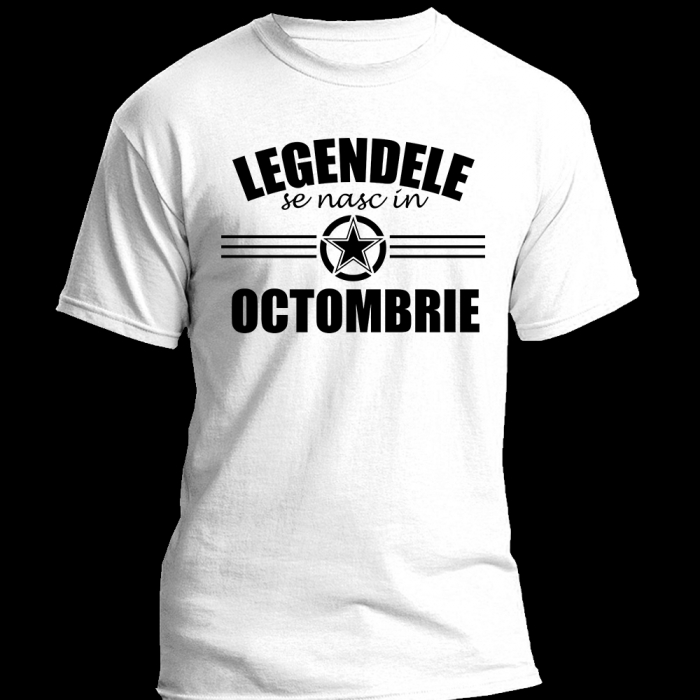 TRICOU Legendele se nasc in OCTOMBRIE 0