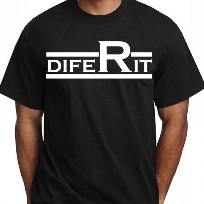 Tricou DIFERIT (Negru) 0