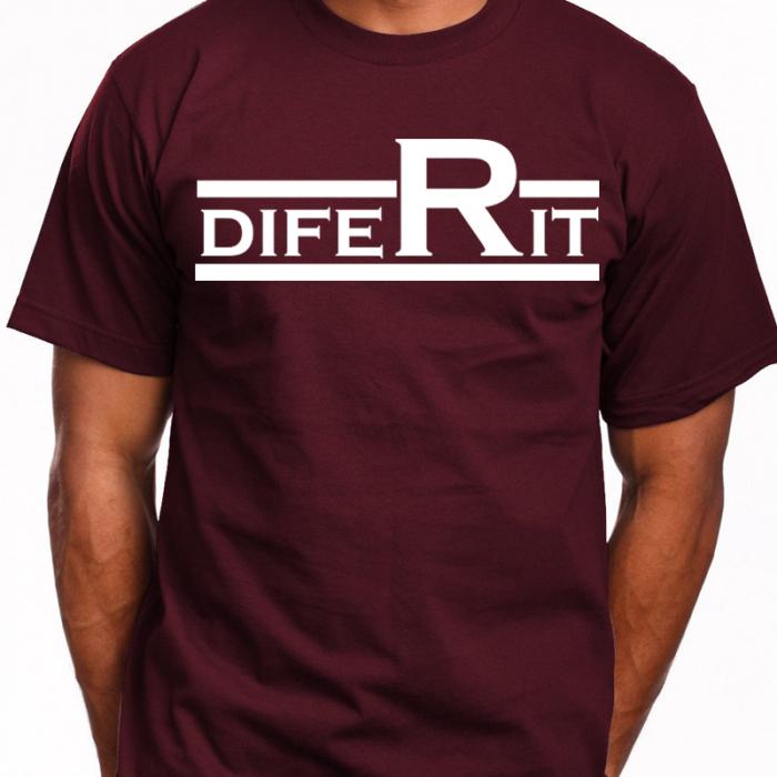 Tricou DIFERIT (Visiniu) 0