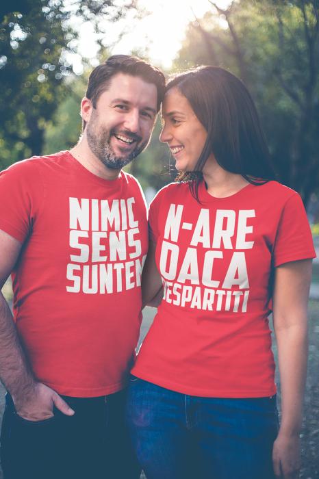 Set 2 tricouri - Nimic N-are Sens (Rosu) 0