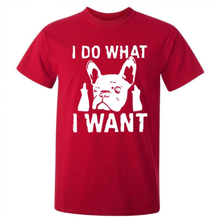 Tricou What I Want (Rosu) 0