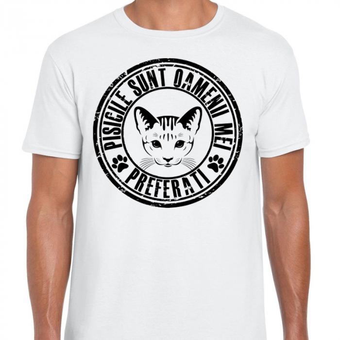 Tricou Pisicile sunt oamenii mei preferati 0