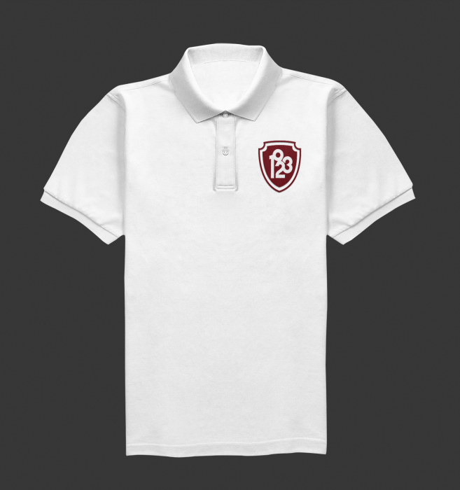 Tricou Polo Alb 1923 0