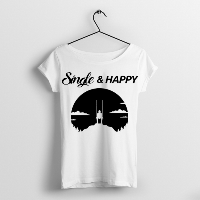 Tricou Single & Happy 0