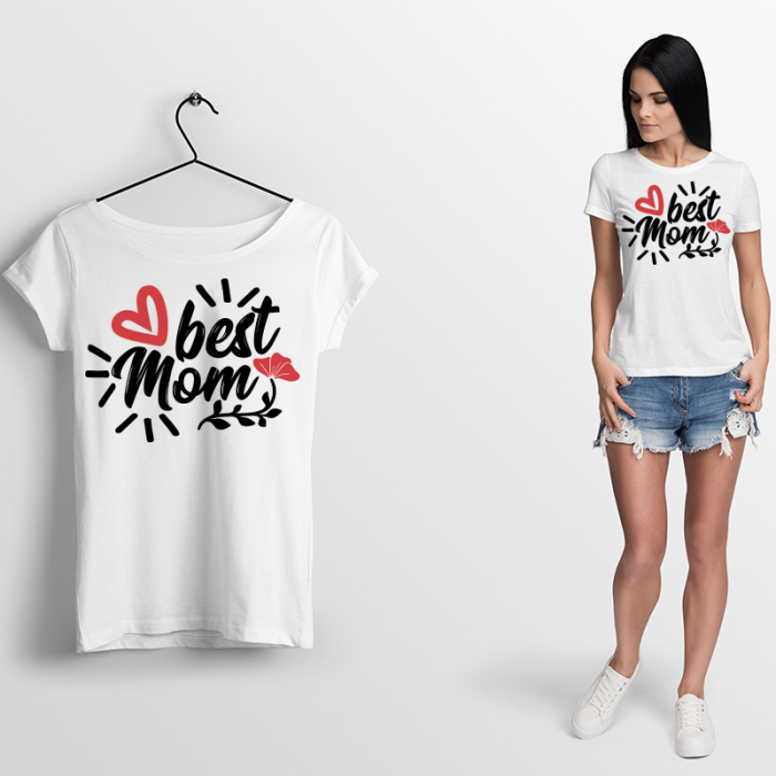 Tricou BEST MOM 0