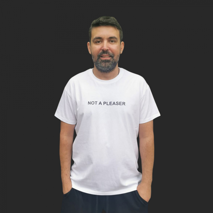 Tricou NOT A PLEASER 0