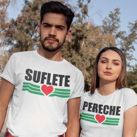 SET 2 TRICOURI - SUFLETE PERECHE0