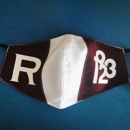 Masca de protectie Alb-Visinie 19231