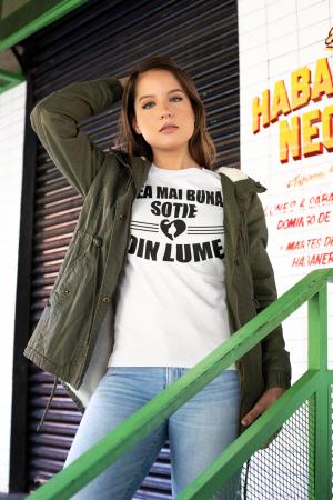 Cea mai buna sotie din lume (Hanorac+Bluza+Tricou) MARIMEA S2