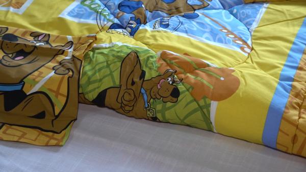 Pilota Scooby Doo (iarna) cu fata de perna 6