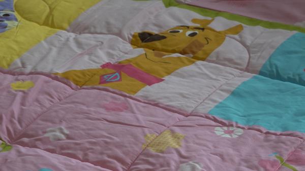 Set pilota si fata de perna Scooby Doo 14
