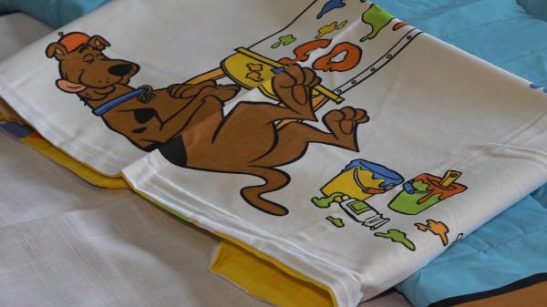 Set pilota si fata de perna Scooby Doo 1