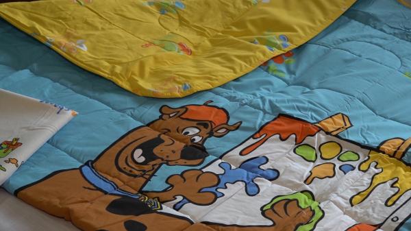 Set pilota si fata de perna Scooby Doo 0