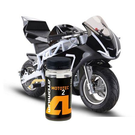 Aditiv ulei, Atomium, Mototec 2, antiuzura, 100 ml, pentru motociclete in doi timpi si tehnica fina 1