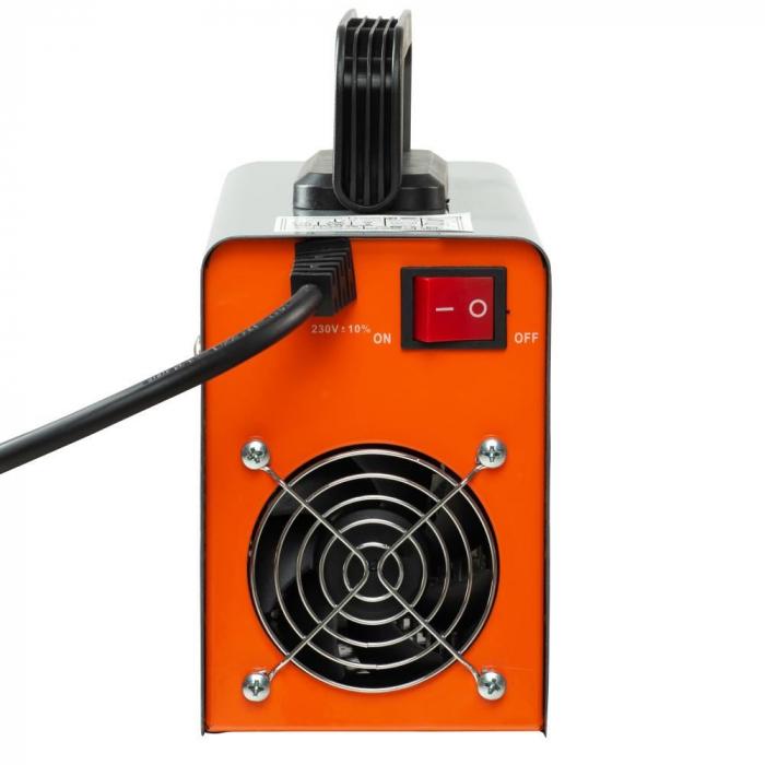 Aparat de sudura smart (G 15), autotestare la pornire, putere absorbita 9.5 kVA, eficienta 85%, electrod 1.6-4.0 mm, accesorii incluse [3]