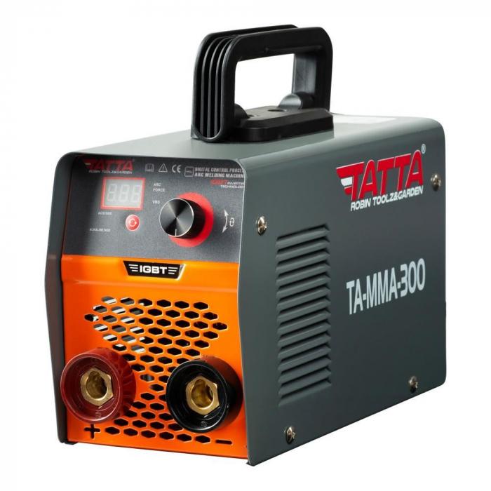 Aparat de sudura smart (G 15), autotestare la pornire, putere absorbita 9.5 kVA, eficienta 85%, electrod 1.6-4.0 mm, accesorii incluse [1]