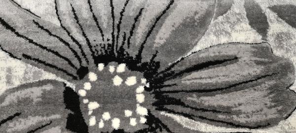 Covor Imperial Gri cu Flori [5]