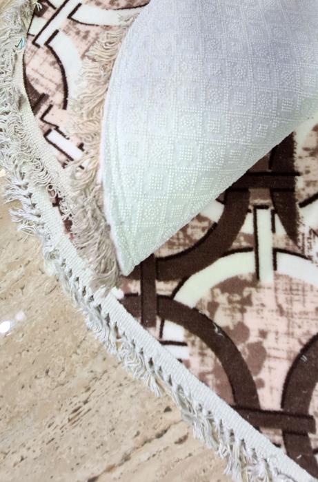 Covorase de baie cu ciucuri, (CB 28) set 2 bucati, 100x60 cm, AB TEKSTIL [1]