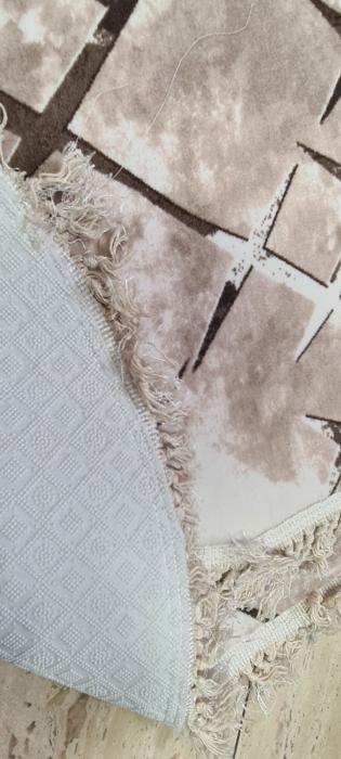 Covorase de baie cu ciucuri, (CB 3) set 2 bucati, 100x60 cm, AB TEKSTIL [1]