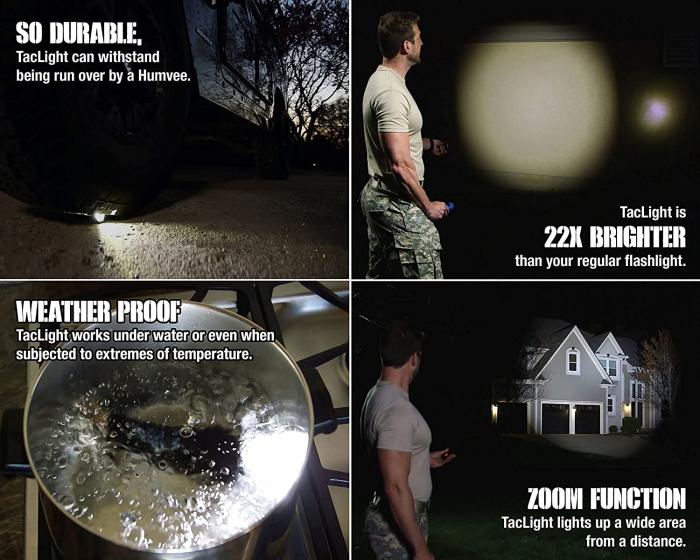 Lanterna Tactica LED Tac Light 3