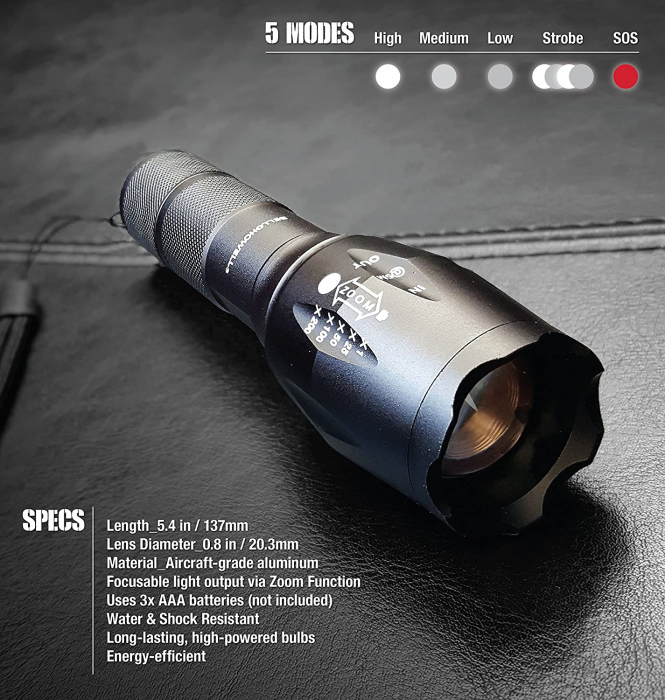 Lanterna Tactica LED Tac Light 2
