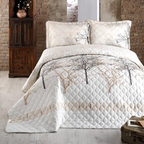 Cuvertură de pat matlasată, bumbac, 2 persoane (MIDAS V2) 0