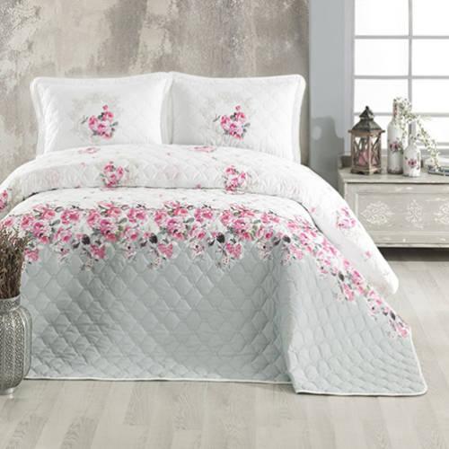 Cuvertură de pat matlasată, bumbac, 2 persoane (RADE) 0