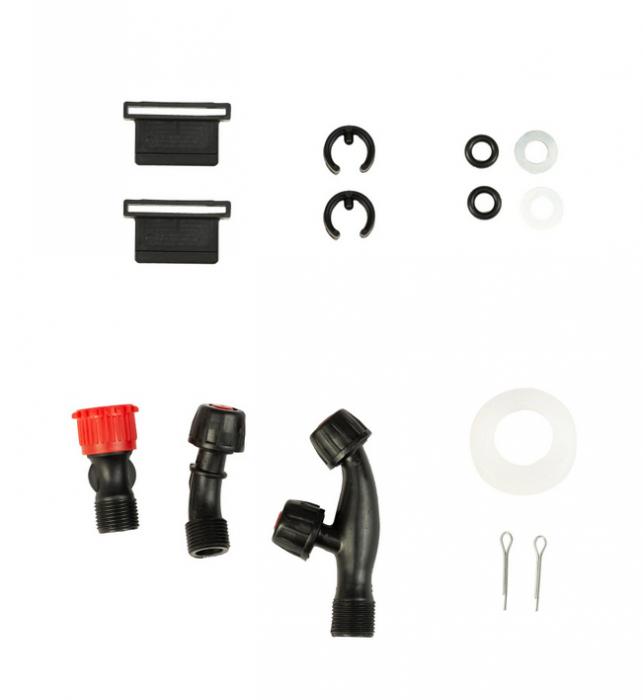 Pompa stropit cu acumulator si actionare manuala 2 in 1 Vermorel, 16L, 12V [7]