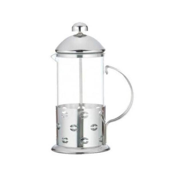 Infuzor ceai sau cafea 800 ml, din sticla si inox [0]