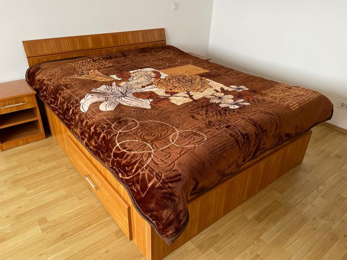 Patura Groasa Grofata, (PGG 1) Maro, 180 x 230 cm, pentru paturi de 2 persoane, Good Life [0]