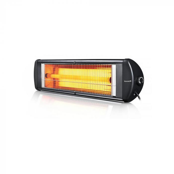 Radiator cu infrarosu (E 51), 2500 W, termostat reglabil, montabil pe perete [0]