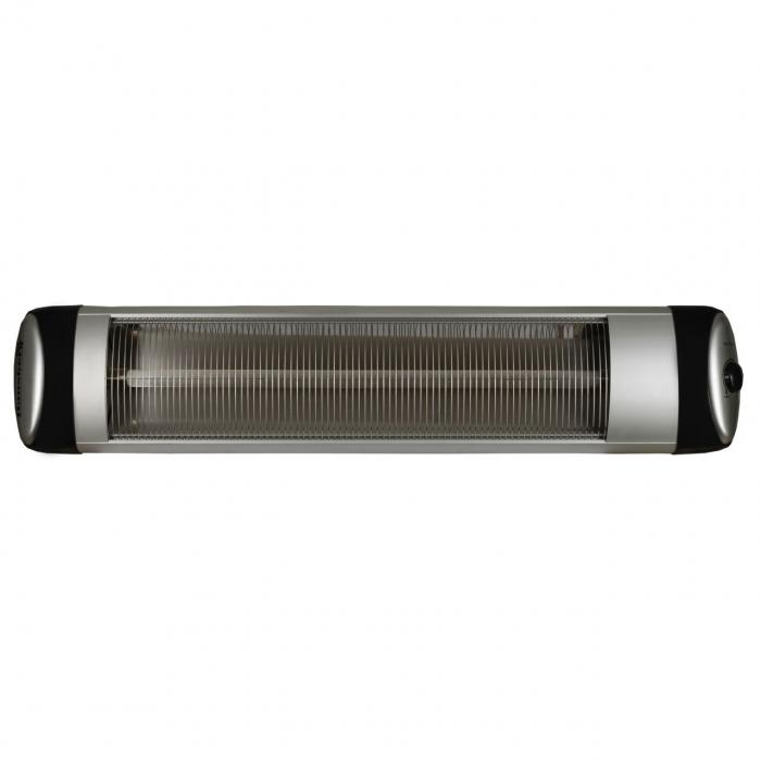 Radiator infrarosu (E 54), 2500 W, 2 nivele de putere, termostat reglabil [1]
