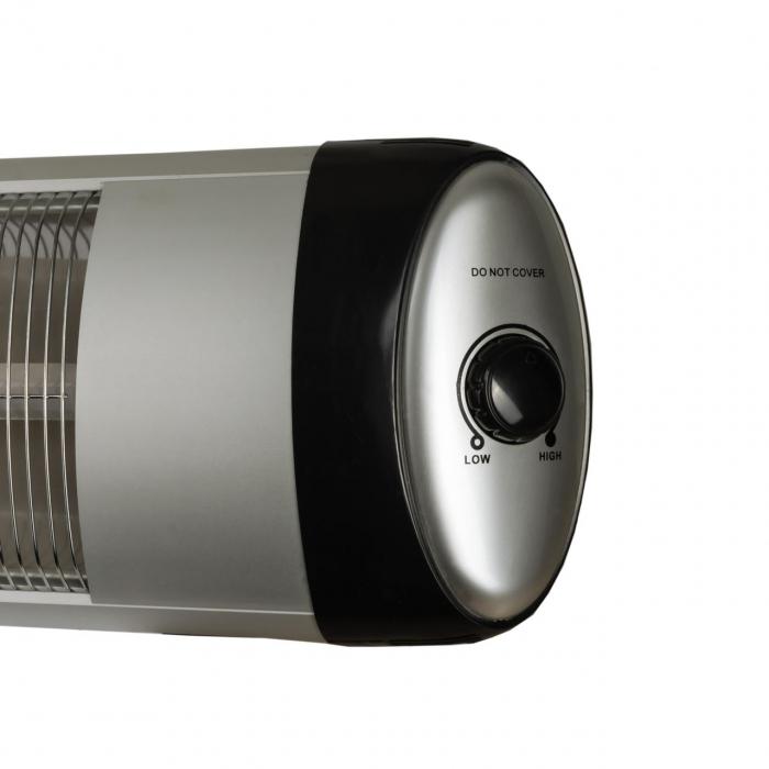 Radiator infrarosu (E 54), 2500 W, 2 nivele de putere, termostat reglabil [2]