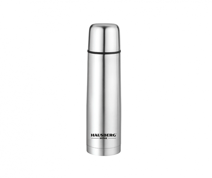 Termos Inox, capacitate 750 ml, forma glont la 24 mix teleshop [0]